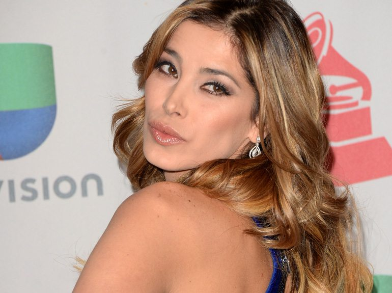 LAS VEGAS, NV - NOVEMBER 21: TV personality Aída Yéspica poses in the press room at the 14th Annual Latin GRAMMY Awards held at the Mandalay Bay Events Center on November 21, 2013 in Las Vegas, Nevada. (Photo by Jason Merritt/Getty Images)