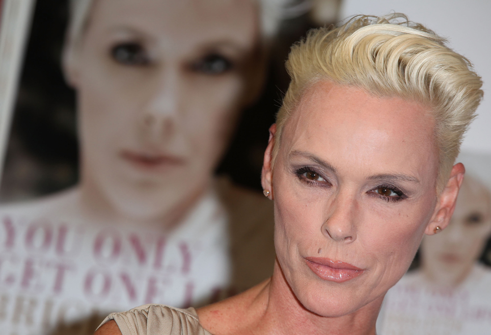 LONDON, ENGLAND - APRIL 11: Brigitte Nielsen Launches Her New Book Called You Only Get One Life at Earls Court as part of the London Book Fair on April 11, 2011 in London, England. (Photo by Tim Whitby/Getty Images) *** Local Caption *** Brigitte Nielsen